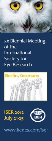 XX Biennial Meeting for the International Society for Eye Research - Berlin, Gernamy - July