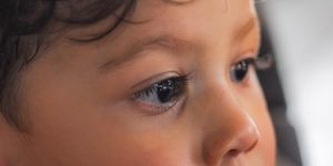 An image of a child's eyes