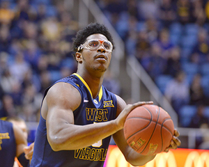 Devin Williams Wearing NCAA Basketball Googles