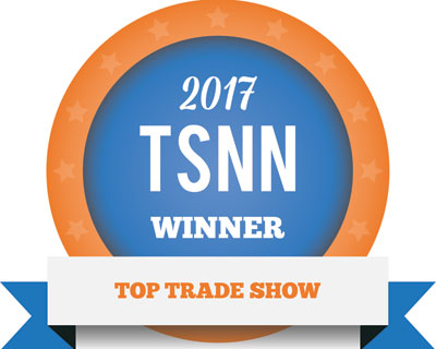 Top Trade Show badge for 2017