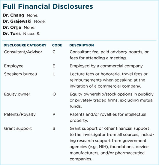 August 2016 Feature Full Financial Disclosures