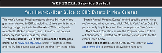 October 2013 Practice Perfect Web Extra