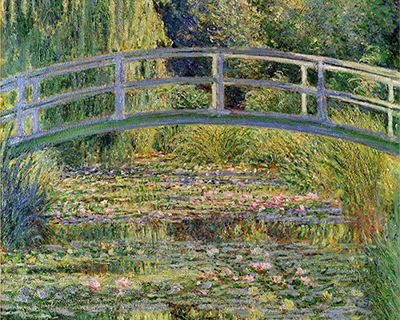 Monet's Waterlily Pond (1899)