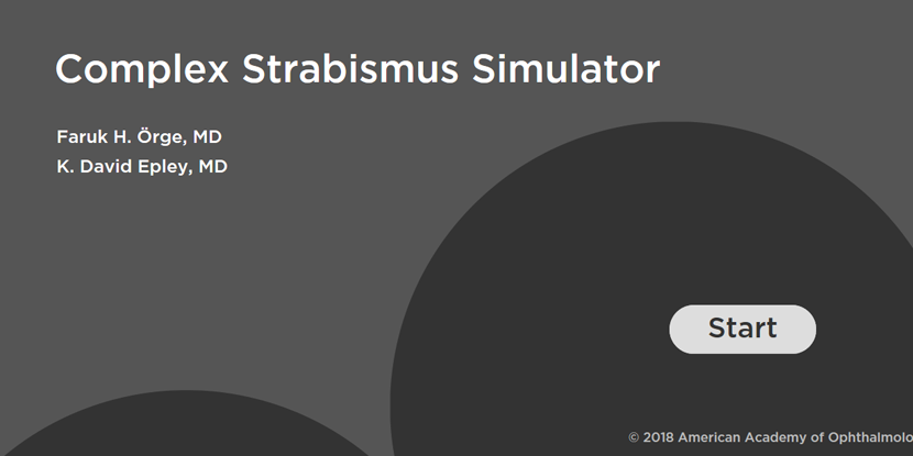 Complex Strabismus Simulator - American Academy of Ophthalmology