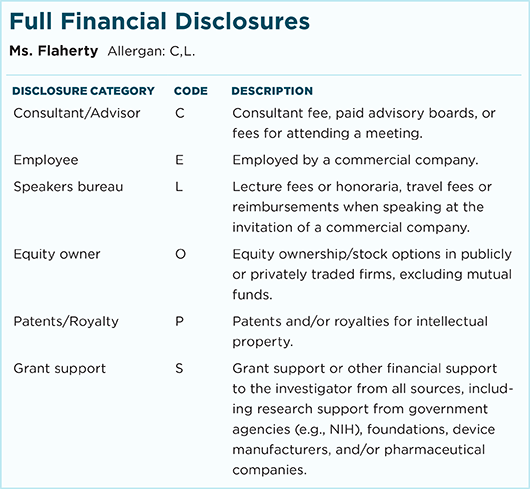 November 2017 Feature Full Financial Disclosures
