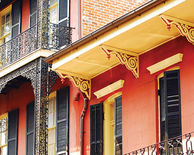 New Orleans architecture.