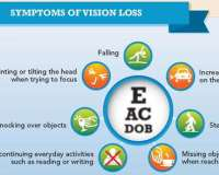 Thumbnail of infographic that shows the importance of maintaining eye health as we age