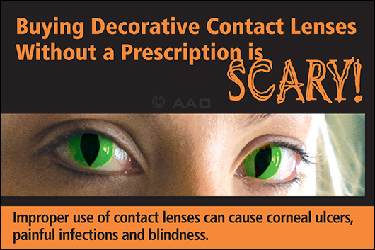 Decorative Contact Lens Campaign