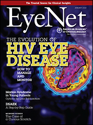 January 2014 EyeNet Cover