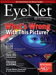 October 2014 EyeNet Cover