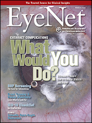 EyeNet March 2014 Cover image