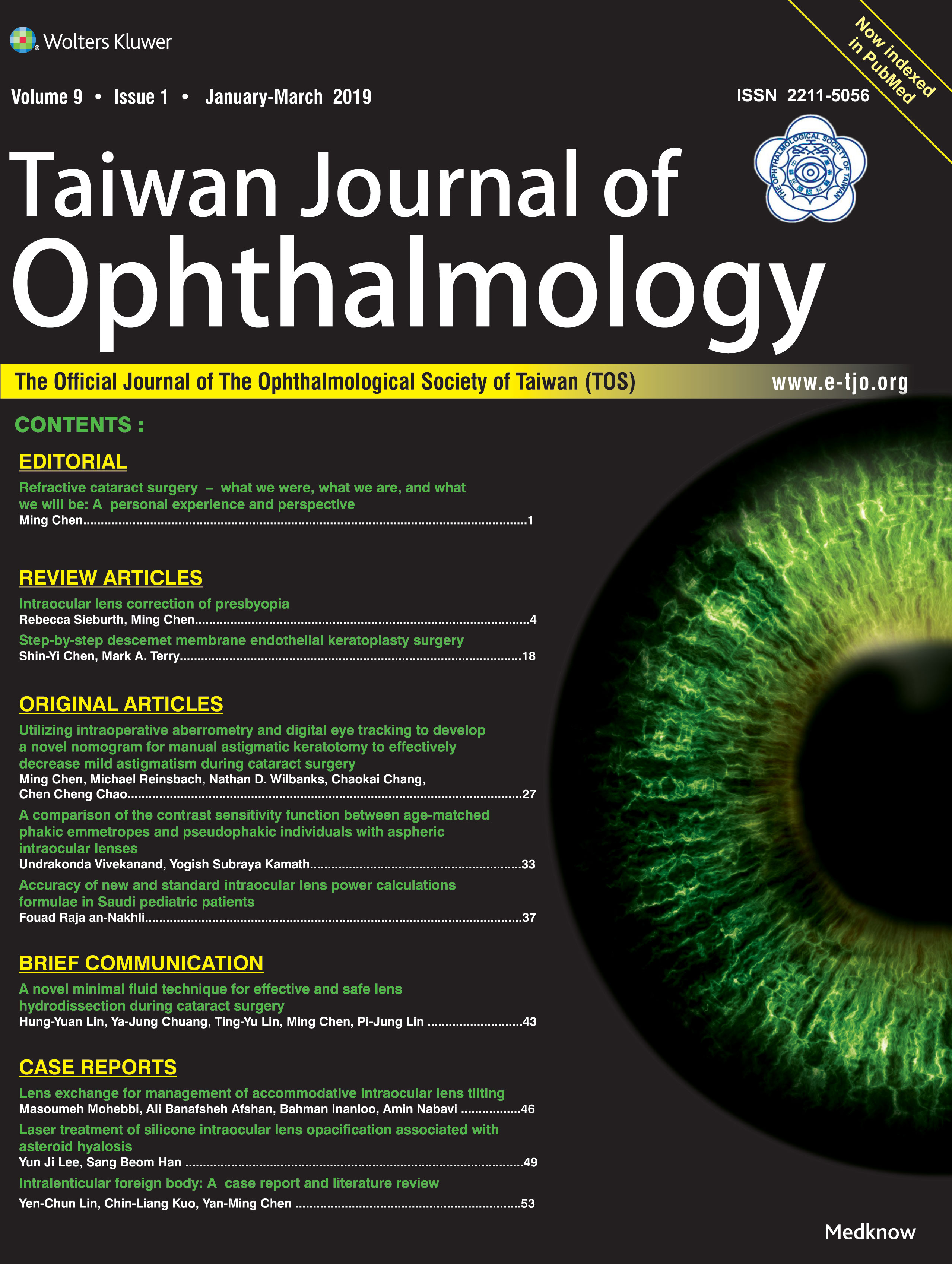 Taiwan Journal of Ophthalmology