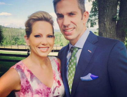 Dry-eye patient Shannon Bream enjoys life with her husband.